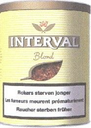 Interval blond pot de 200gr